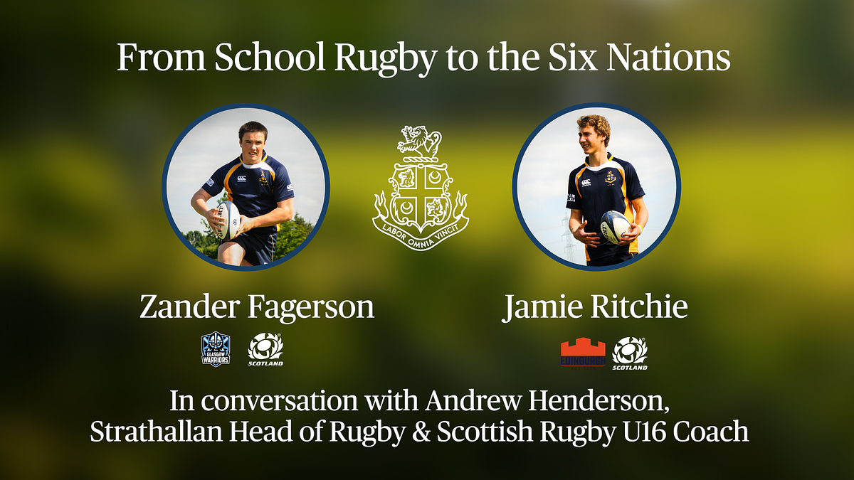 From school rugby to the Six Nations: Zander Fagerson and Jamie Ritchie in conversation